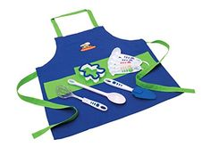 Curious Chef Chefs Kit 11Piece BlueGreen *** Want to know more, click on the image.
