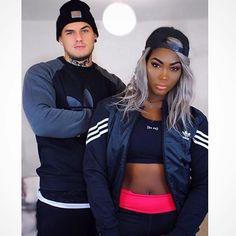 Drop dead gorgeous interracial couple #love #wmbw #bwwm #favorite ❤