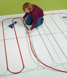 How to install Radiant Heat in Floorsat The Home Depot