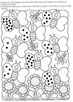 Album Archive - 4 5 6 Mania Numeros del 1 al 30 Kindergarten Worksheets, Learning Activities, Preschool Activities, Kids Learning, Math Numbers, Pre Writing, Coloring Pages, Album, Paper Embroidery