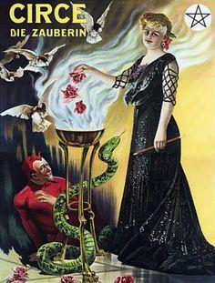 1907 Circe die zauberin