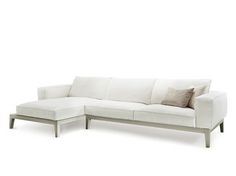 Sectional 3 seater fabric sofa CARESSE FLY | 3 seater sofa
