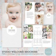 Portray a professional image for your photography business with this Trifold Photography Brochure. Professionally written wording included!