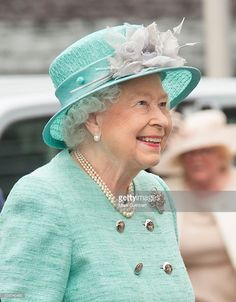 Queen Elizabeth II attends the Opening of the Fifth Session of the National Assembly for Wales at The Senedd on June 7, 2016 in Cardiff, Wales. (Photo by Mark Cuthbert/UK Press via Getty Images)
