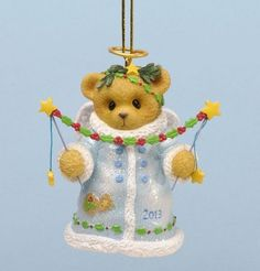 Cherished Teddies You Put the Christmas Twinkle in My Eye Ornament 2013 by Enesco, http://www.amazon.com/dp/B00BM6YEXK/ref=cm_sw_r_pi_dp_Oweasb0TMGMBV