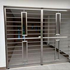 Iron Window Grill, Window Grill Design Modern, Balcony Grill Design, Grill Door Design, Balcony Railing Design, Front Gate Design, Door Gate Design, House Gate Design, Steel Grill Design