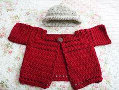 Baby Cardigan & Hat !