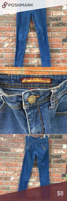 2BWU Blue Jeans True Blue Jeans• These babies never faded• I even have a black pair ( which I'm not selling- since HS and they are still in perfect black condition)• Skinny• True to size• Can Fit a size 6 2BWU Jeans Jeans Skinny