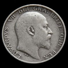1905 Edward VII Silver Shilling – Very Rare (R2)