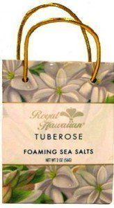 Hawaii Royal Hawaiian Foaming Body Sea Salt Bag Tuberose by Buns of Maui. $12.18. Hawaiian Bath & Body products make a great gift for that special someone!. Submerge yourself in a sea of soothing, fragrant aromatherapy with our foaming mineral salts. Naturally drawing impurities from the skin, they inspire a healthy island glow. 2 oz. size.