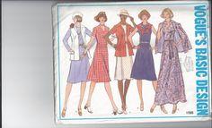 Vintage Vogue Basic Design Misses' Dress & Jacket by Buyfoxy