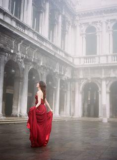 Valentino Inspired Elopement in Venice