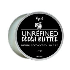 Ryaal Organic Cocoa Butter : Unrefined, 100% Pure Raw Cocoa Butter- For Skin Care