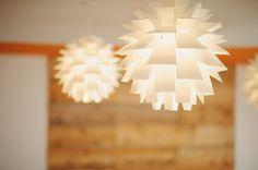 Photo:  Sean McGrath - client:  Yoga Haus - Interior Design:  punch inside Lights:  Norm 69 at www.tuckstudio.ca Yoga Studio Interior, Punch, Table Lamp, Lights, Interior Design, Home Decor, House, Nest Design, Decoration Home