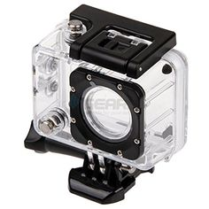 Waterproof Dive Transparent Housing Case For WiFi SJ6000 Sport Action Camera *** Check out this great product. (This is an Amazon Affiliate link and I receive a commission for the sales)
