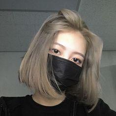 hw girl Log in Ulzzang Short Hair, Asian Short Hair, Girl Short Hair, Asian Hair Dye, Korean Hair Dye, Short Hair Korean Style, Short Dyed Hair, Shot Hair Styles, Long Hair Styles