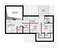 Rzut CPT KONCEPT 13 CE Floor Plans, Architecture, Home Plans, Arquitetura, Architecture Design, Floor Plan Drawing, House Floor Plans