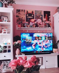 40 Amazing Game Room Design Ideas You Must Copy Now Nerd Room, Gamer Room, Cute Room Ideas, Cute Room Decor, Room Ideas Bedroom, Bedroom Decor, Geek Bedroom, Kitchen Pegboard, Ikea Pegboard