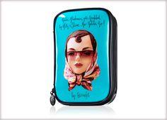 Benefit Cosmetics - gabbi makeup bag #benefitgals #benevoyage