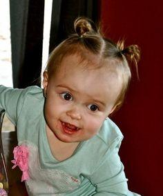 coiffure pour bébé fille