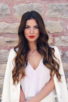 Perfect White Pant Suit | Negin Mirsalehi  #istanbul