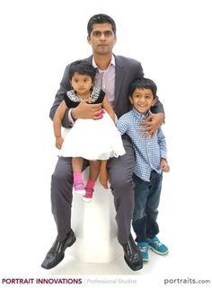Vinod and children