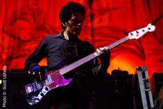 Juan Alderete de la Pena, bassist of The Mars Volta/Big Sir. THE shit.