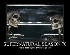 Season 78 haha #Supernatural