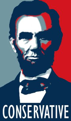Lincoln was a Republican. This is a confusion often made by those not well-informed on American political history. Lincoln's party has nothing to do with the modern Republican party of 2012. The Republicans were the liberals of their day in 1860.