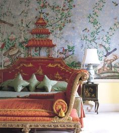 LOOKING AT CHINOISERIE   Mark D. Sikes: Chic People, Glamorous Places, Stylish Things