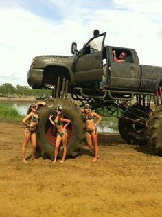 Southern Women love Big Trucks !