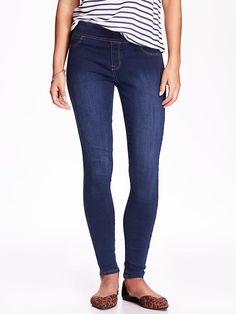 Mid-Rise Rockstar Jeggings Product Image- These are my favorite things in the whole world!!! Super comfortable, stretchy, & they look like real jeans