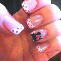 Disney nails!! Done by @Lauren Lantis!!