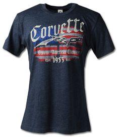 C6 Corvette American Drive T-Shirt