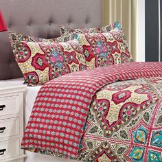 Superior Wildberry 300 Thread Count 3-piece Cotton Duvet Cover Set | Overstock.com Shopping - The Best Deals on Duvet Covers