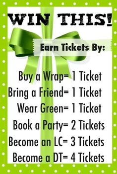 Raffle to win all you have to do is host a party!! Lifechangerjlm.itworks.com