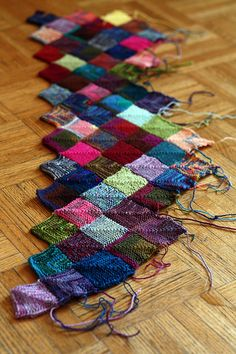 And so she grows.  .  .  .  insanity blanket.