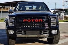 Ford May take Legal Action against Foton Big General for copying F-150 Automotive News, Automotive Industry, Ranger, Agriculture Tractor, Mercedes G Class, Toyota Hiace, Ford, Diesel Engine, Rolls Royce