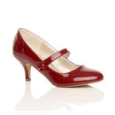 Damen Hoher Absatz Mary Jane Formal Abend Party Ball Pumps Schuhe Größe 8 41 - http://on-line-kaufen.de/ajvani/41-eu-8-uk-damen-hoher-absatz-mary-jane-formal-abend-23