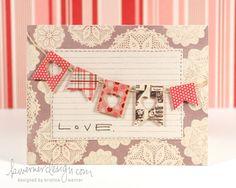 love banner card