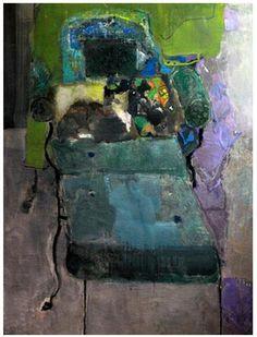 Pierre Lesieur, Chaise longue noire et chat