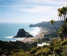 Beautiful New Zealand. (Piha)