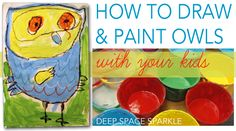 I've been playing around with this lesson for a while now. I created this free owl drawing guide and have been taking advantage of it. My third graders used the handout to create a marker and watercolor painting but for my Kinders, I wanted to keep the choices to a minimum. I decided to use yellow chalk... View Article