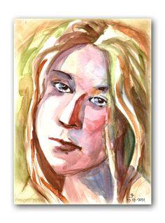 Watercolor by Joanna Lazuchiewicz 2014