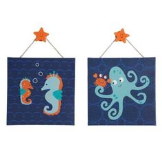 Bubbles & Squirt Wall Decor - Set of 2 by Lambs & Ivy, http://www.amazon.com/dp/B007K1EJ8Q/ref=cm_sw_r_pi_dp_5CDHrb11SSY0N