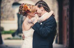 Philadelphia Wedding Photographers - Allebach Photography - Tattooed Bride Tattooed Groom