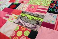 Turn Baby Clothes Into a Quilt