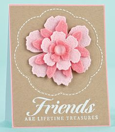 Lifetime Treasures Card by @Lucy Abrams