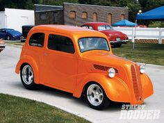 1948 Ford Anglia custom, we had a car like this. Then my brother got it when he started driving.