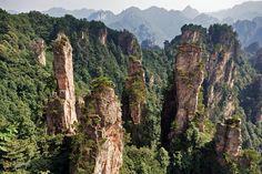 ЧжанЦзяЦзе – #Китай (#CN) А это прототипы гор Аллилуйя с Пандоры! Собственно, сейчас они так и называются официально, а находятся они, конечно же, на Земле, в Китае, в Национальном лесном парке ЧжанЦзяЦзе.Мы же говорили - в Китае есть на ЧТО посмотреть!  ↳ http://ru.esosedi.org/CN/places/5378605/chzhantszyatsze/
